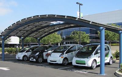 10 สถานีชาร์จแบตฯ (Solar Charging Stations ) สำหรับรถยนต์ไฟฟ้าด้วยพลังงานแสงอาทิตย์ - 01