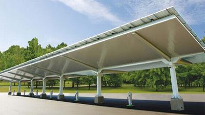 10 สถานีชาร์จแบตฯ (Solar Charging Stations ) สำหรับรถยนต์ไฟฟ้าด้วยพลังงานแสงอาทิตย์ - 02
