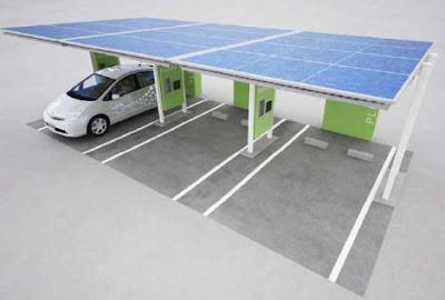 10 สถานีชาร์จแบตฯ (Solar Charging Stations ) สำหรับรถยนต์ไฟฟ้าด้วยพลังงานแสงอาทิตย์ - 03