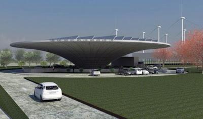 10 สถานีชาร์จแบตฯ (Solar Charging Stations ) สำหรับรถยนต์ไฟฟ้าด้วยพลังงานแสงอาทิตย์ - 04