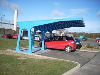 10 สถานีชาร์จแบตฯ (Solar Charging Stations ) สำหรับรถยนต์ไฟฟ้าด้วยพลังงานแสงอาทิตย์ - 06