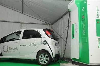 10 สถานีชาร์จแบตฯ (Solar Charging Stations ) สำหรับรถยนต์ไฟฟ้าด้วยพลังงานแสงอาทิตย์