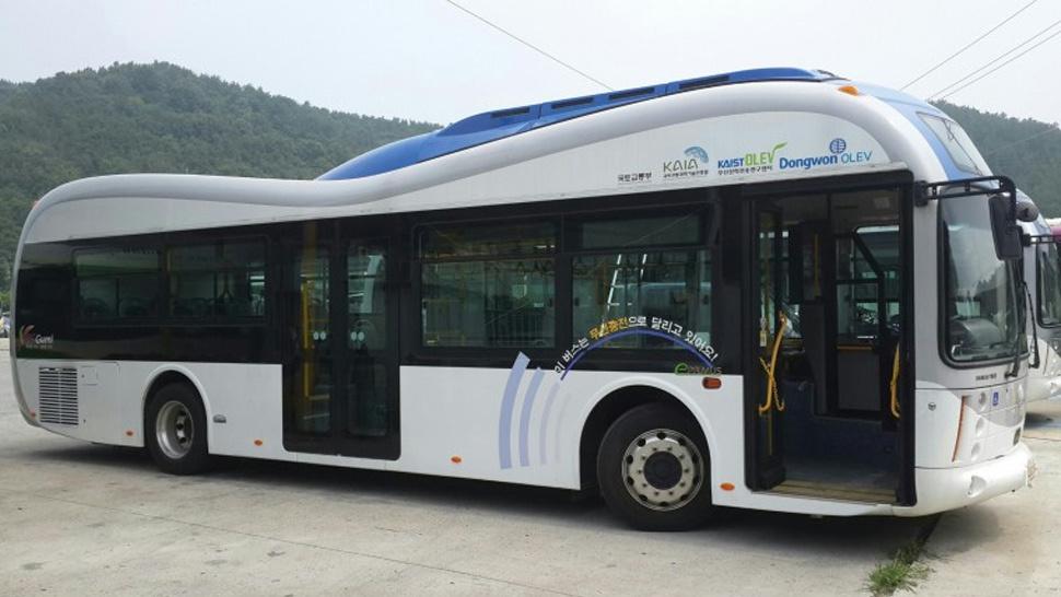 Wireless Buses รถบัสไฟฟ้าชาร์จไฟโดยถนน - 03