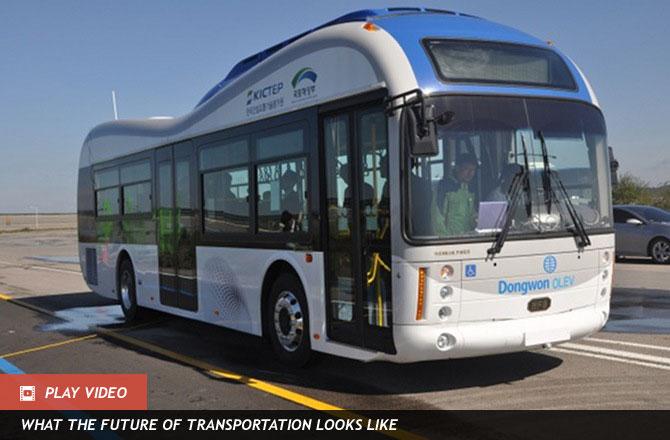 Wireless Buses รถบัสไฟฟ้าชาร์จไฟโดยถนน