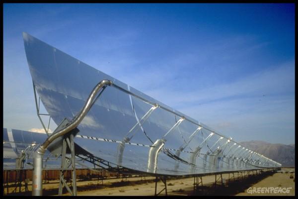 Solar farm, Daggett, California, USA.