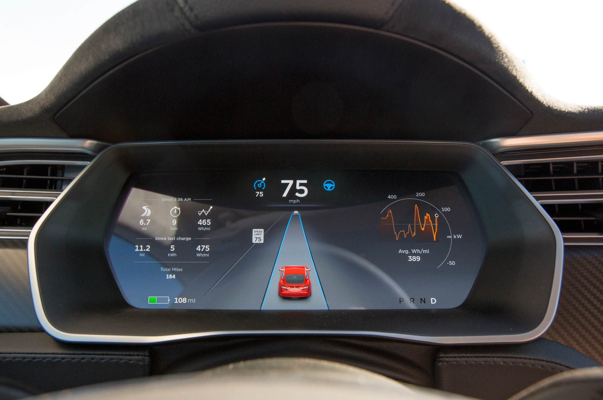 2015-Tesla-Model-S-P90D-digital-cluster