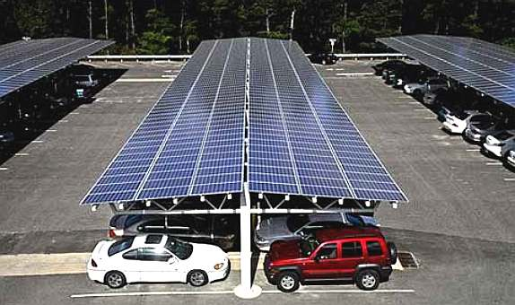 solar-car-ports-roof-mounted-parking-panels